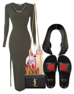 """Free Your Toes"" by melaninprincess-16 ❤ liked on Polyvore featuring BUSCEMI and Yves Saint Laurent"