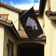 Pin for Later: 29 Items Every True Game of Thrones Enthusiast Should Own  Stark Sigil Banner Flag (£14)