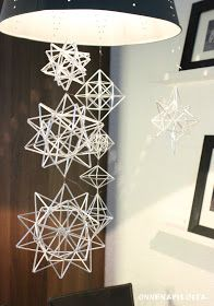 ONNENAPILOITA: Piikkipallo- himmeli Straw Crafts, Diy Canvas, Winter Christmas, Projects To Try, Lifestyle, Inspiration, November 2015, Home Decor, Advent