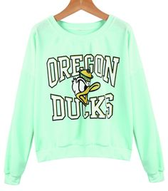 How cute is this Oregon Ducks sweatshirt? #goducks #oregonducks