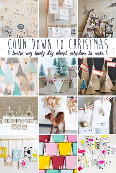 lily&Bloom . a cOuntdown to christmAs . { with twElve of the lOveliest dIy advEnt calendArs . with gorgeous ideas from @rebeccacooper . @annchen1974 . @uncommondesigns . @youaremyfave . @Abubblylife . @kristenwhitby . @asubtlerevelry . @StudioDIY . @mrprintables } .