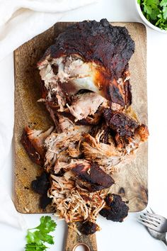 Smoked Pork Shoulder - The Wooden Skillet