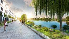 """Vinhomes Riverside 2 – Nơi """"thiên đường thanh bình"""" mới của thủ đô"""
