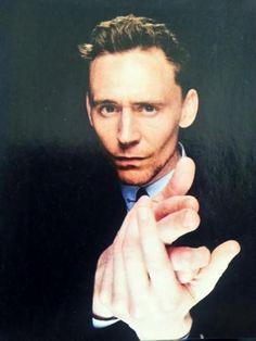 My name is Tom, Tom Hidllestone .........007