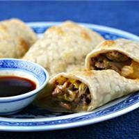 Asian Turkey Empanadas With Dipping Sauce Recipe on WeGottaEat