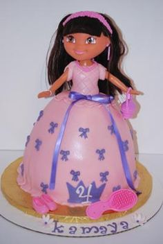 Dora Birthday Cake - it's a MUST!!! My Mamaw would be so proud!