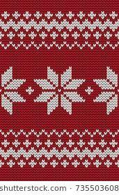Benzer Set of Fair Pattern sweater design on the wool knitted texture. Red and Blue Knitting Ornament Görselleri, Stok Fotoğrafları ve Vektörleri - 327357905 Fair Isle Knitting Patterns, Christmas Knitting Patterns, Knitting Charts, Knit Patterns, Cross Stitch Borders, Cross Stitch Flowers, Cross Stitch Patterns, Cross Stitch Embroidery, Blue Design