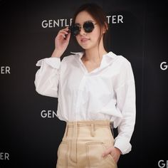 GENTLE MONSTER Opening ceremony with Korea actress Hyo Rin, Min (민효린)