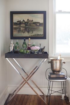 Butler Tray +Stand from west elm — spotted on @Design*Sponge