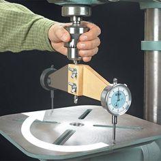 Drill Press Checkup | Woodsmith Tips