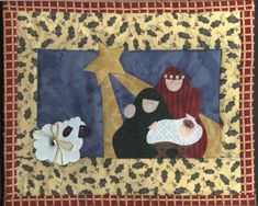 Country Threads :: Christmas Quilt Patterns   Quilting and Sewing ... : nativity quilt pattern - Adamdwight.com