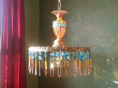 Hey, I found this really awesome Etsy listing at https://www.etsy.com/listing/179615839/gypsy-chandelier-lighting-crystal