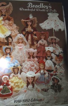 Bradley Dolls - Division of Bradley Import Co. (or Stockinette Dolls)