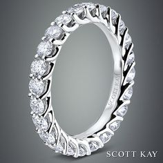 Absolutely beautiful Scott Kay diamond eternity band.