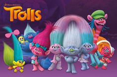 Trolls Trolls Characters - Maxi Poster