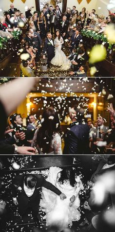 Confetti at Layer Marney Essex Wedding by Anesta Broad Photography