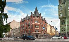 Street view @ Katajanokka, Helsinki. Visit Helsinki, Interesting History, Beautiful Buildings, Capital City, Finland, Summer Time, My Photos, Environment, Street View