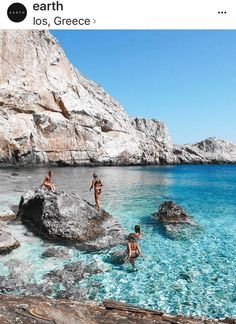 Summer is just around the corner.desire of sea Have you ever seen a water like this? We are in Ios, Greece, one of our fav island Tag someone to bring here next summer! Greek Islands To Visit, Best Greek Islands, Greece Islands, Places To Travel, Places To See, Travel Destinations, Greece Destinations, Zakynthos, Greek Island Hopping