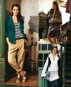 Read the article 'Palazzo Style: 8 Plus Size Patterns' in the BurdaStyle blog 'Daily Thread'.