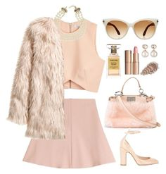 """PRETTY ME."" by shanelala ❤ liked on Polyvore featuring moda, Finders Keepers, RED Valentino, Chanel, H&M, Tom Ford, Samira 13, Fendi, Valentino i Charlotte Tilbury"