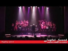 Gospelkoor Joyful Sound - Mighty Spirit - YouTube