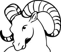 Ram tattoo design