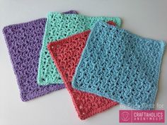 Free+Crochet+Washcloths+pattern