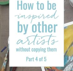 How to be inspired by other artists without copying them 4: perspective