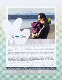 J-K + Nora (Ali Edwards Bond Story Kit)