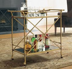 Beverage Centers Beyond Built Ins and Bar Carts