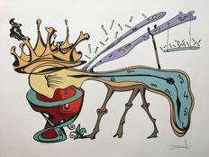 Salvador Dalí - Rigetto della civilta. Les Vitraux