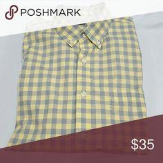 Men's cotton shirt Light weight, cotton oxford, button down collar, like New J Crew Shirts Casual Button Down Shirts
