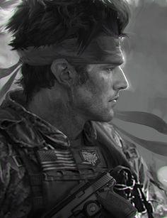 Metal Gear Online Concept Art, Jordan Lamarre-Wan on ArtStation at https://www.artstation.com/artwork/4Rgw4