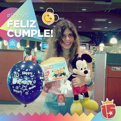 #FelizCumple Ludmi! Triple festejo para el grupo #celesteJ16  con #Enjoy15! Nuestros mejores deseos para las cumpleañeras!