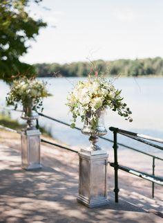 How to Host Your Wedding at Home, Stress-Free Wedding Event Planner, Destination Wedding, Wedding Planning, Wedding Vases, Wedding Ceremony Decorations, Wedding Flowers, Wedding Advice, Plan Your Wedding, Wedding Ideas