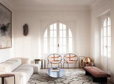 Modern Rome Apartment Living Room