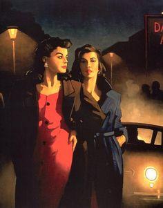 Fallen angels | Jack Vettriano, 1951