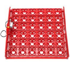 Plastic 36 Eggs Poultry Chicken Incubator Turner Tray Turning Motor Temperature Control Farm Incubation Tools Accessories