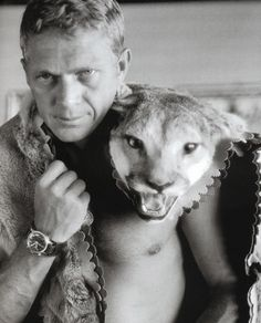 Steve McQueen… and friend. | Album of Awesomeness