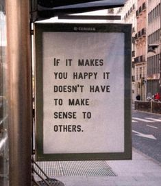 If it makes you happy, no need to explain Motivacional Quotes, Deep Quotes, Mood Quotes, Cute Quotes, Qoutes, Quotes Positive, Happy Quotes, Positive Vibes, Quotes On Walls