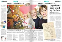 December 2013: Guide til børn: Så meget kan du forlange i gave. Et klassisk tema grebet an på en helt ny og forfriskende måde.