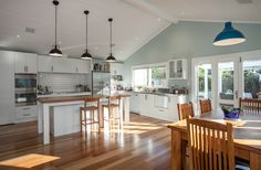 Top Bungalow Home Renovation Ideas New Zealand Houses, Home, Updating House, House Design, Home Remodeling, Classy Kitchen, Kitchen Style, Home Renovation, Grey Home Decor