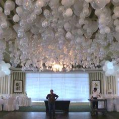 Balloon ceiling treatment