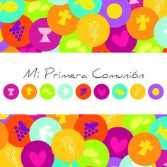 Ideas para las invitaciones de primera comunión, tarjetas y demás.