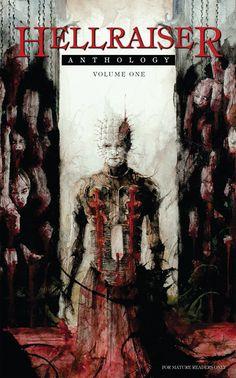 Hellraiser Anthology cover - art by Daniele Serra