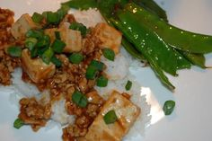 Ma Po Tofu (From Cooking Light) - An all-time favorite of ours (confession:  we use more ground pork than called for)