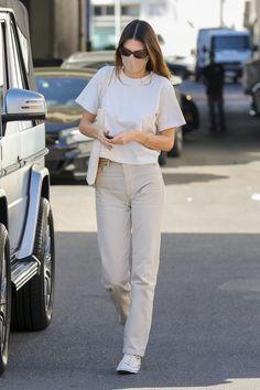Celebrity Style Casual, Celebrity Outfits, Kendall Jenner Casual, Kendal Jenner Street Style, Kendall Jenner Fashion, Kendall Jenner Tumblr, Model Outfits, Fashion Outfits, Estilo Hailey Baldwin