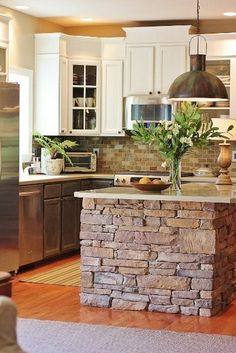 Kitchen design ideas with stone tile (19)