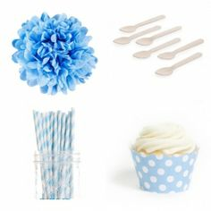 Polka Dots Mini Dessert Table Party Kit