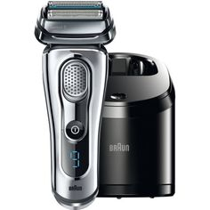 Braun Series 9 9090cc Electric Shaver with Cleaning Center, Black